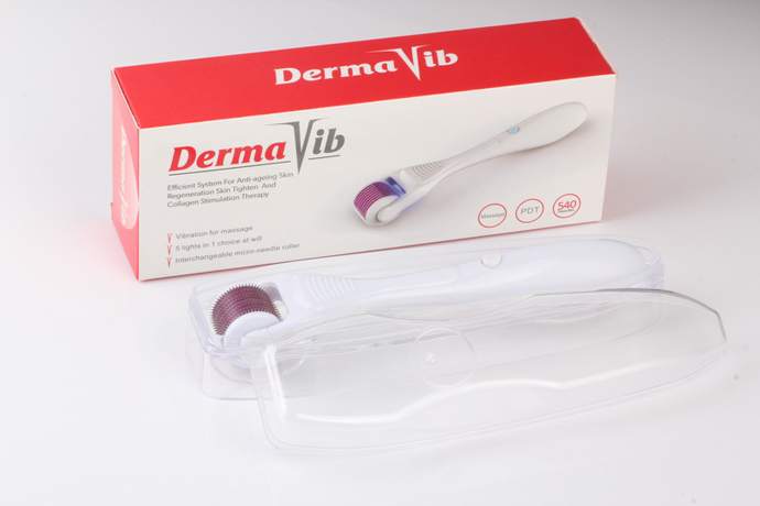 DermaVib vibration photon therapy derma roller(five color in one)